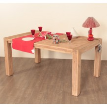 "Table de repas acacia ""Devil"" 200cm"