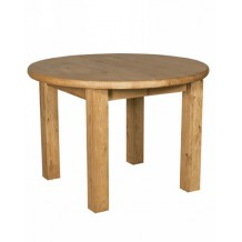 "Table ronde pin massif ""Brunswick"" Casita"