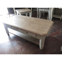 "Table basse rectangulaire 130 cm ""Charme"""