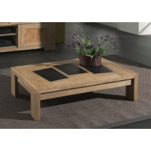 "Table basse teck massif ""Borabora"""