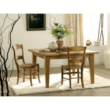 Table de repas carre &quot;Venise&quot; 130cm