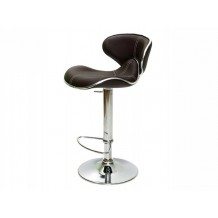 Tabouret de bar chocolat Torra