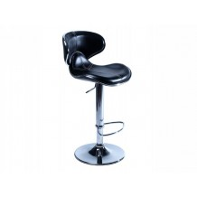Tabouret de bar noir Torra