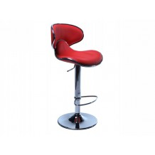 Tabouret de bar rouge Torra