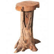 Tabouret de bar teck massif &quot;Farmer&quot; Casita