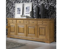 buffet bas monsieur meuble. Black Bedroom Furniture Sets. Home Design Ideas