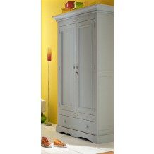 "Armoire pin massif 2 portes ""Cottage"""