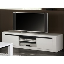meuble tv blanc laqu e conforama un superbe meuble tv pour pictures to pin on pinterest. Black Bedroom Furniture Sets. Home Design Ideas