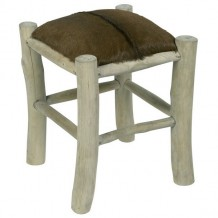 "Tabouret marron ""Farmer"""