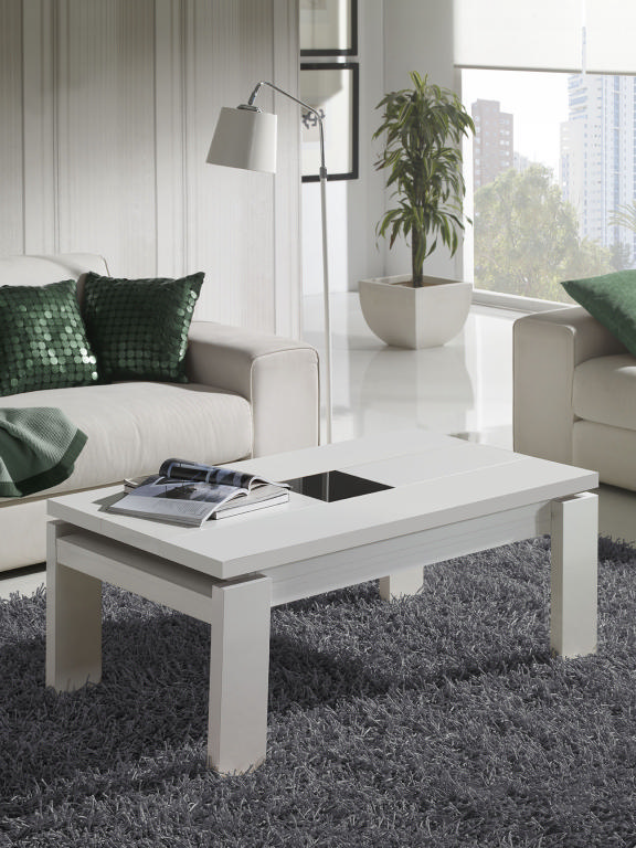 Tl guide d 39 achat - Table basse relevable design italien ...